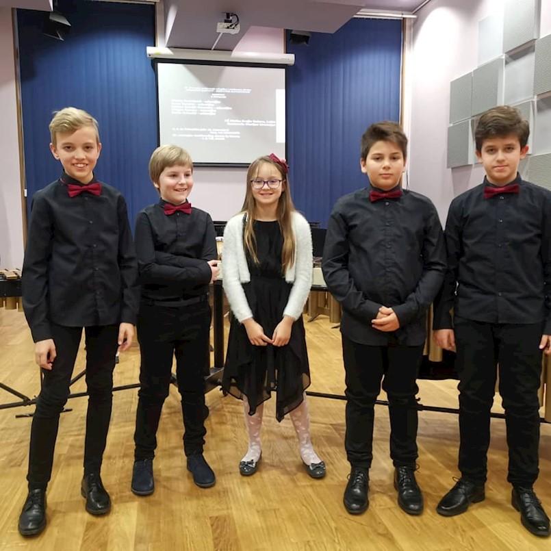 Udaraljkaški kvintet Bum Bam osvojio prvu nagradu na državnom natjecanju komornih sastava