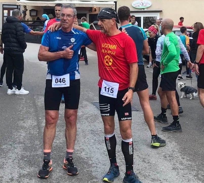 Lučano Sošić i Ivan Stanić i dalje vodeći u Riječkoj zimskoj ligi u trčanju
