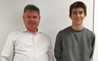 Labinski srednjoškolac Martin Šverko osvojio 1. mjesto na online natjecanju Dabar