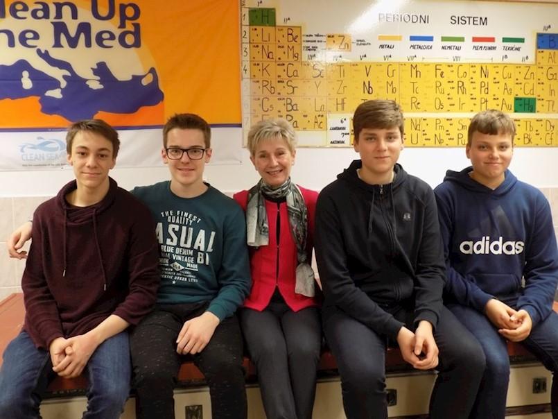 Učenici labinske Srednje škole sudjelovali u GLOBE Fall Cloud Observation kampanji