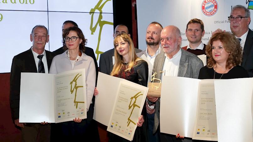 Interpretacijski centar Vlaški puti u Šušnjevici i Kovarska kuća Arsia dobitnici nagrade Zlatna koza