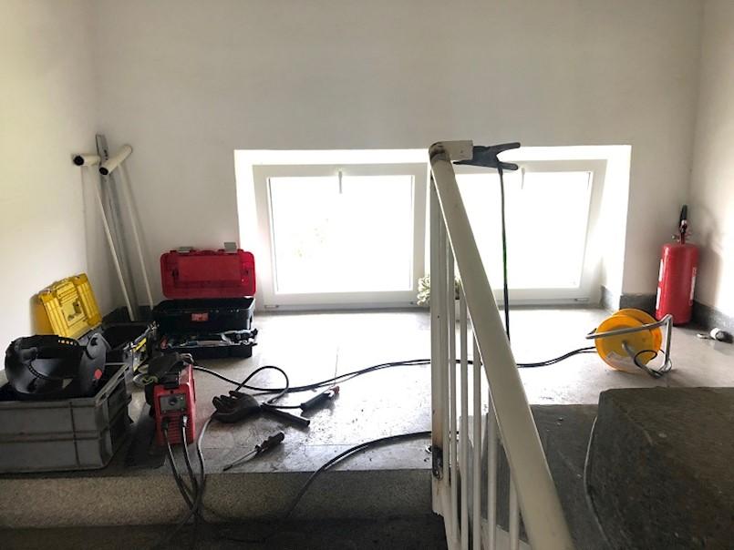 Započela montaža koso podizne rampe u Centru Liče Faraguna