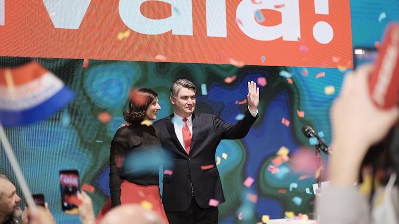 Labinština velikom većinom glasova podržala Zorana Milanovića, novog predsjednika RH