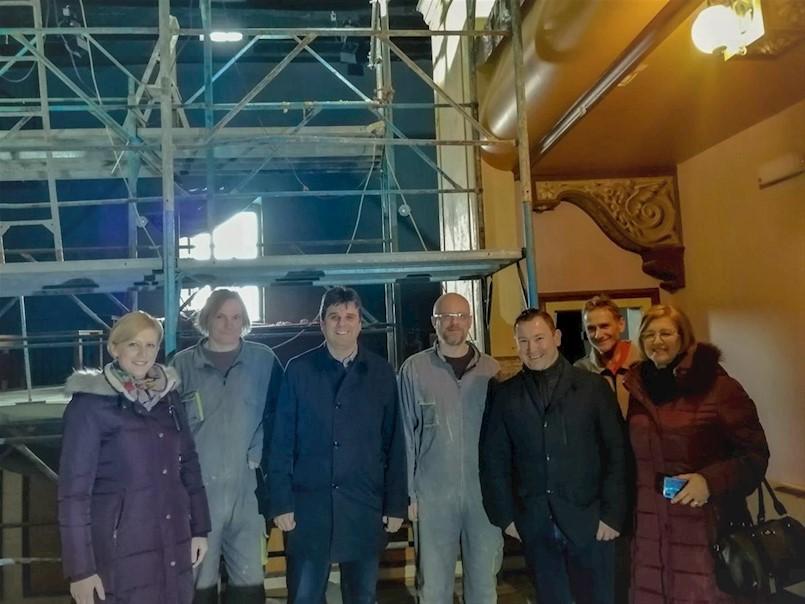 Obnova pozornice Malog kazališta gotova do kraja veljače