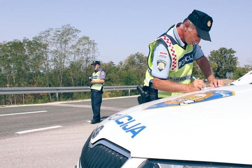Najava prometne akcije na području Labina