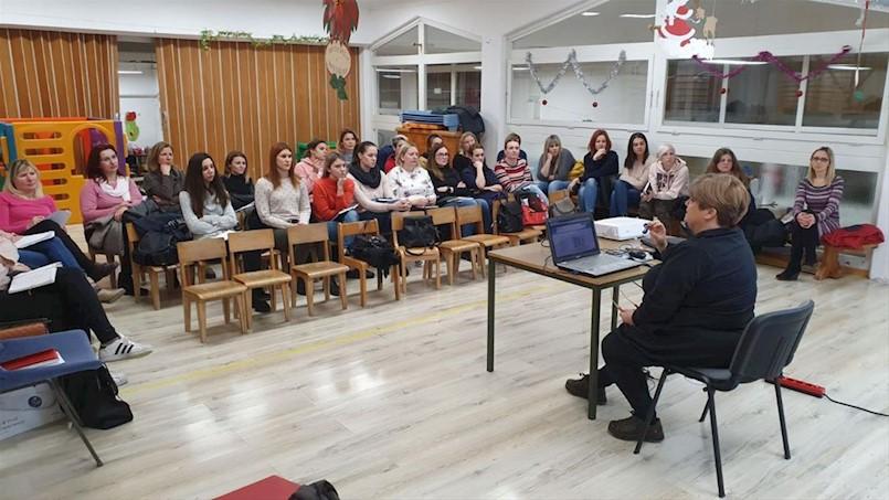 """U DV """"Pjerina Verbanac"""" održana edukacija o eTwinning mreži"""