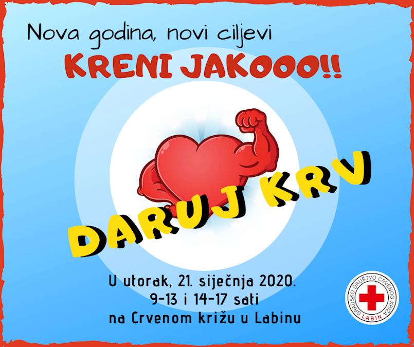 Sutra prva ovogodišnja akcija dobrovoljnog darivanja krvi