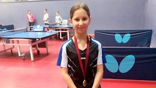 Mladi stolnotenisači Brovinja osvojili su tri zlatne i jednu srebrnu medalju na  4. otvorenom turniru Istarske županije