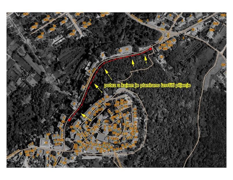 Zbog čišćenja suhih stabala u Pineti sutra privremena regulacija prometa usponom Aldo Negri