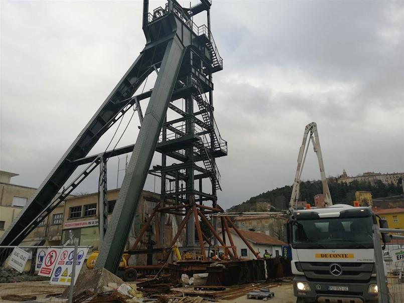 Betonirani temelji, radovi na Šohtu ubrzo gotovi
