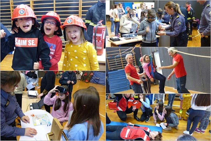 U raškoj osnovnoj školi prigodno obilježen Dan jedinstvenog europskog broja za hitne službe 112