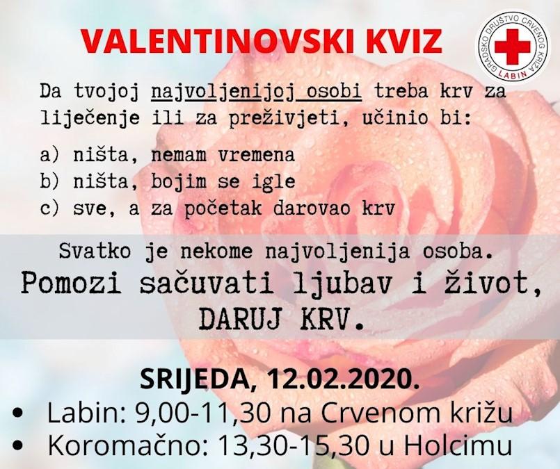 U Labinu i Koromačnu sutra akacija dobrovoljnog darivanja krvi