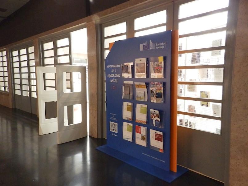 Informirajte se o Europskoj uniji u Gradskoj knjižnici Labin