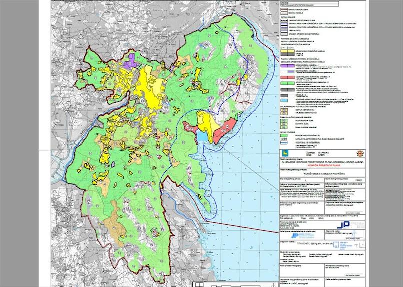 Projekt Aglomeracije se nastavlja – usvojene izmjene PPU-a Grada Labina