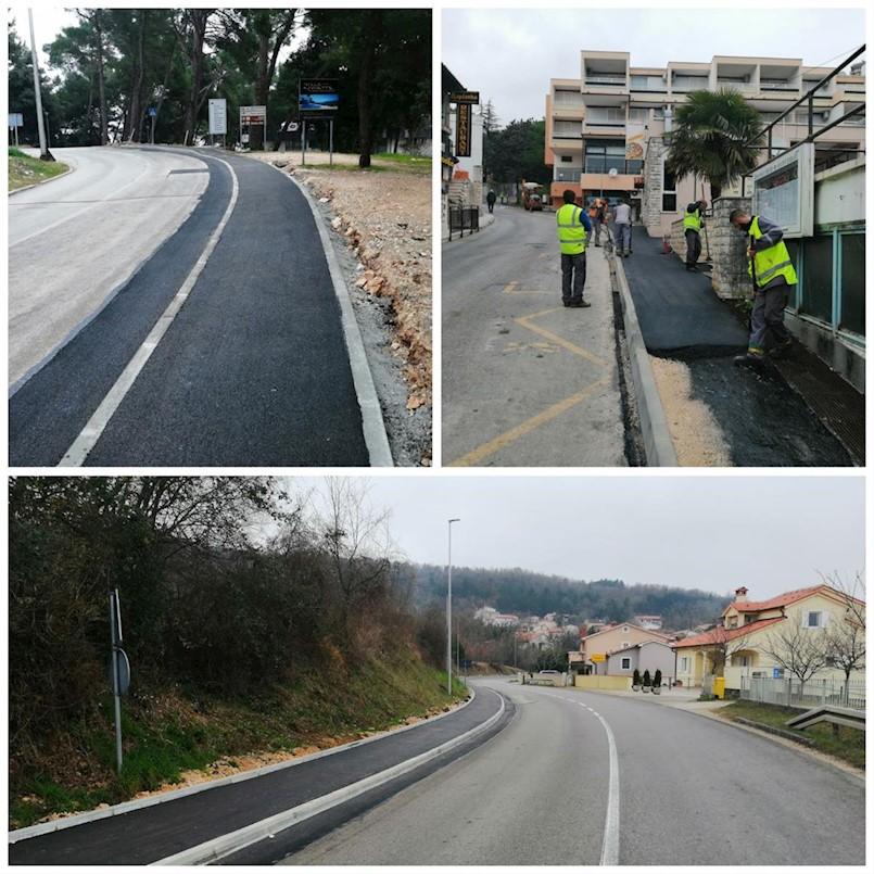Veća sigurnost za pješake u Rapcu i na Kapelici