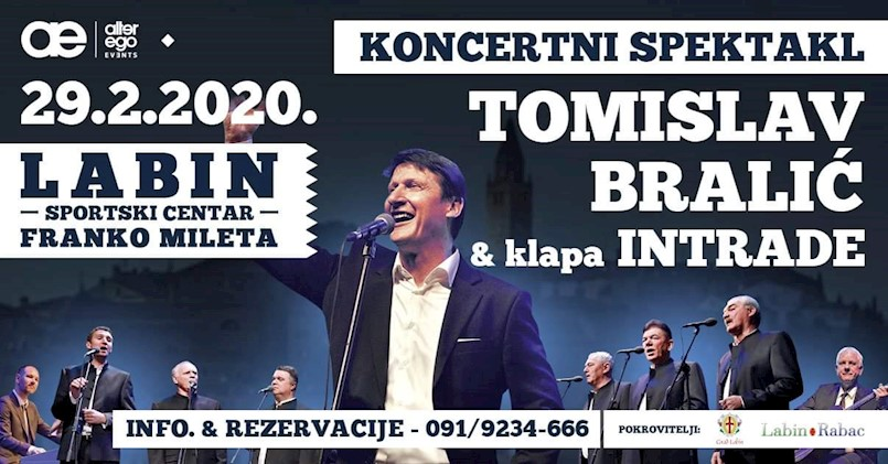 Sve je spremno za koncert Tomislava Bralića i Klape Intrade