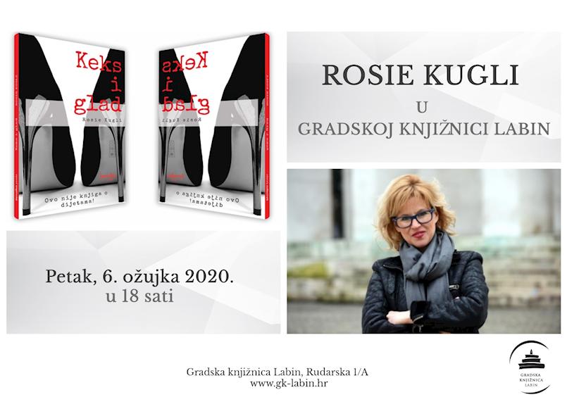 [NAJAVA]  Književnica Rosie Kugli gostuje u Gradskoj knjižnici Labin