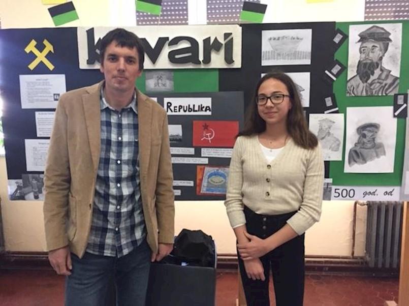 Nataša Mišon prva na županijskom natjecanju iz matematike | OŠ Ivo Lola Ribar druga na vjeronaučnoj olimpijadi