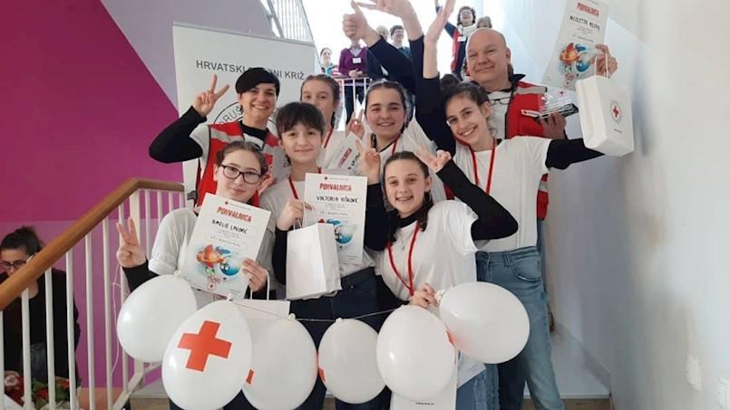 """Ekipa OŠ """"I.L.Ribar"""" pobijedila na Gradskom natjecanju mladih HCK"""