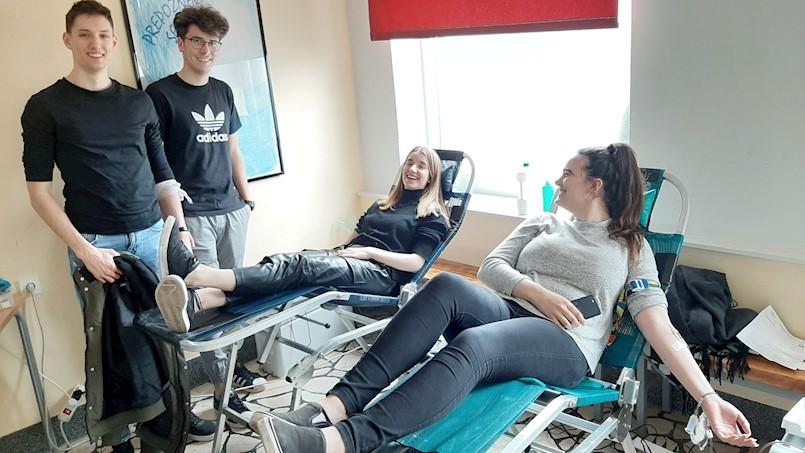 Četiri nove darivateljice krvi