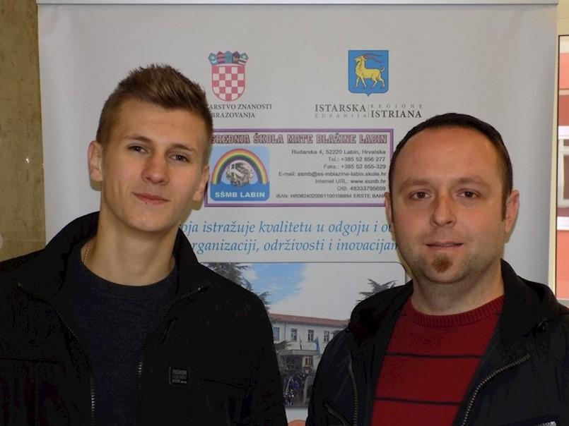 Učenik Saudin Bajramović iz SŠMB-a osvojio je 1. mjesto na regionalnom natjecanju iz električnih instalacija