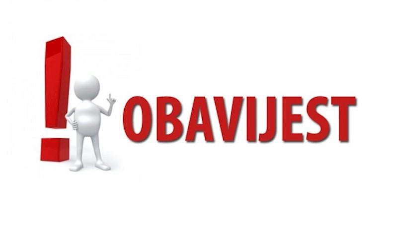 Odluka o ograničenju rada u ugostiteljskim objektima od 06:00 do 18:00 sati