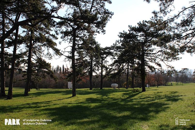 Priopćenje o poštivanju komunalnog reda na prostoru Parka skulptura Dubrova