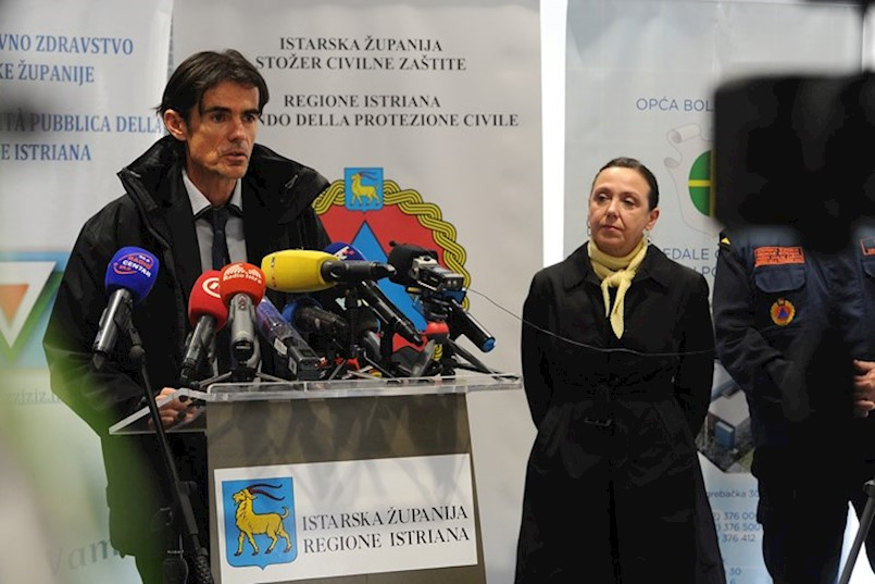 Poznato odakle je 3 novozaraženih iz Istre | Na području Labinštine nema novozaraženih