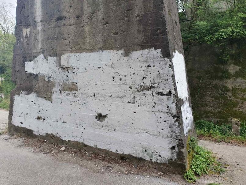 Policija traga za autorom grafita s nacističkom ikonografijom u Krapnu