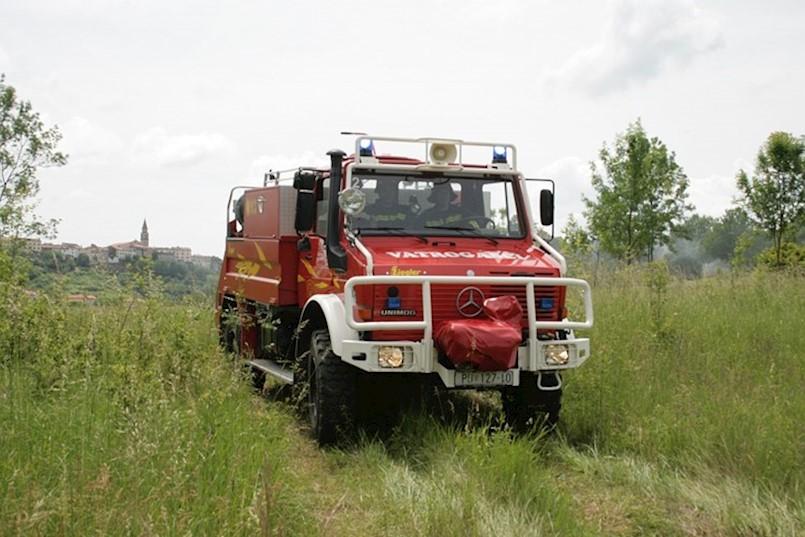 Trgetari: Izbio požar u kući u izgradnji