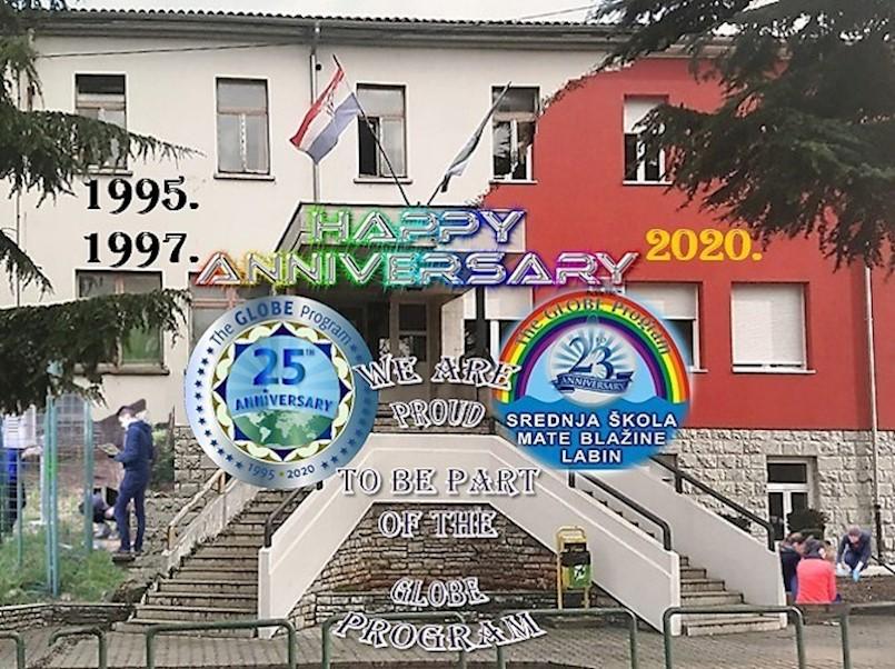 Labinski srednjoškolci obilježili Dan planete Zemlje i 25. obljetnicu GLOBE-a pod neobičnim okolnostima