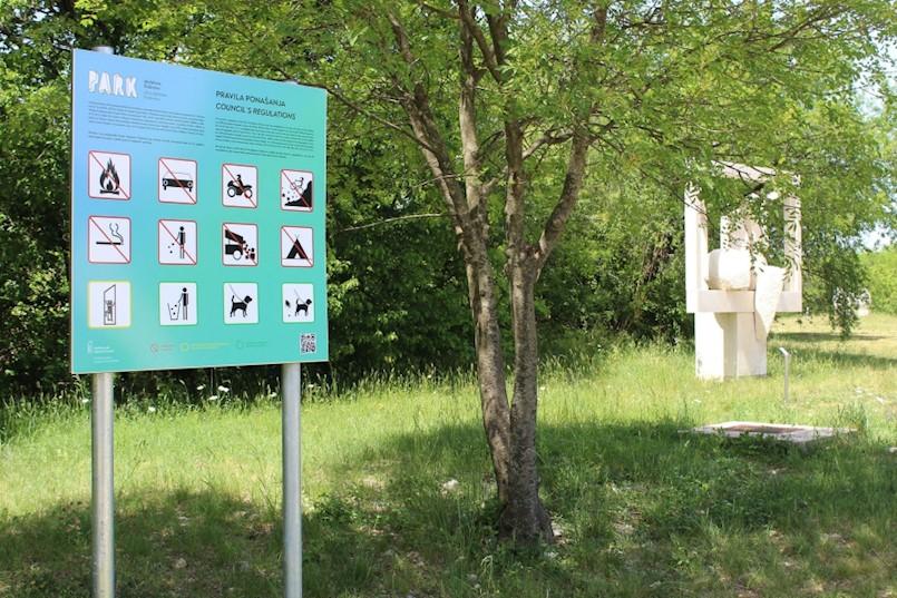Čuvajmo Park skulptura Dubrova!