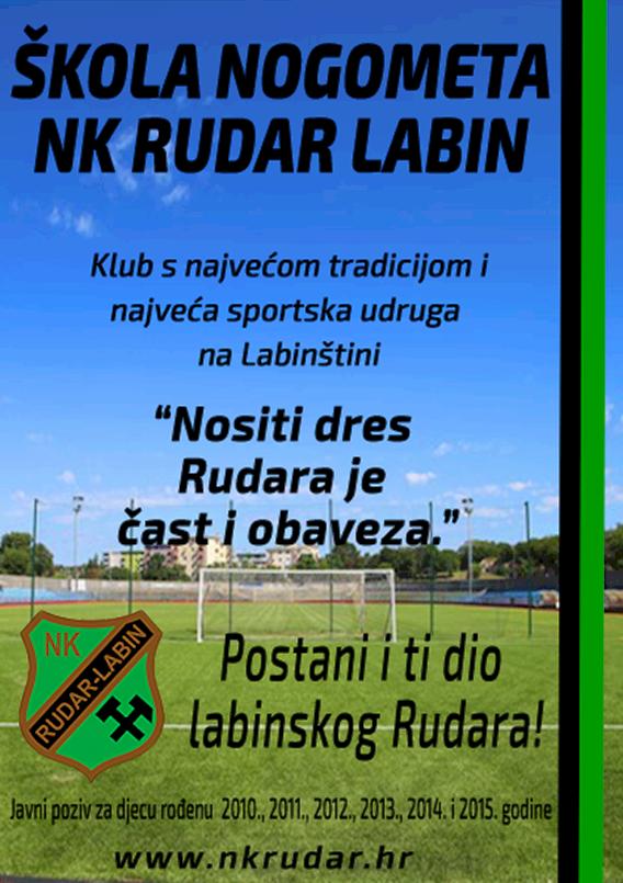 "Kreću upisi u školu nogometa – Prskalo: ""NK Rudar odgaja dobre nogometaše, ali prije svega odgovorne i dobre ljude!"""