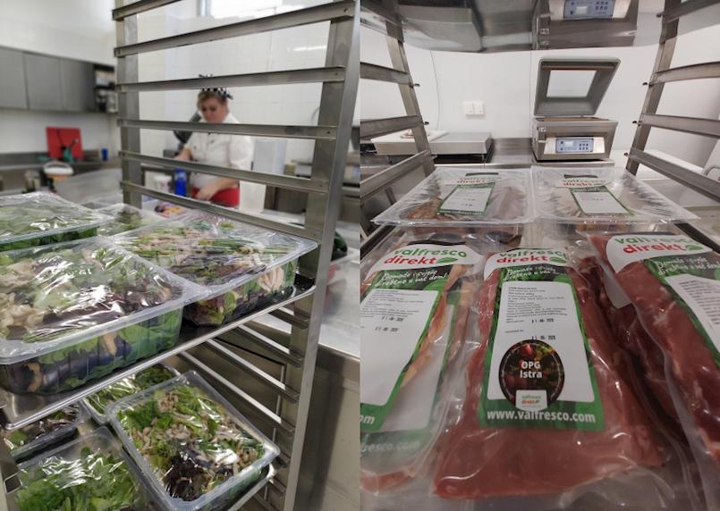 Centralna kuhinja Vinež u svibnju je postala i okosnica Valamarovog novog projekta Valfresco Direkt