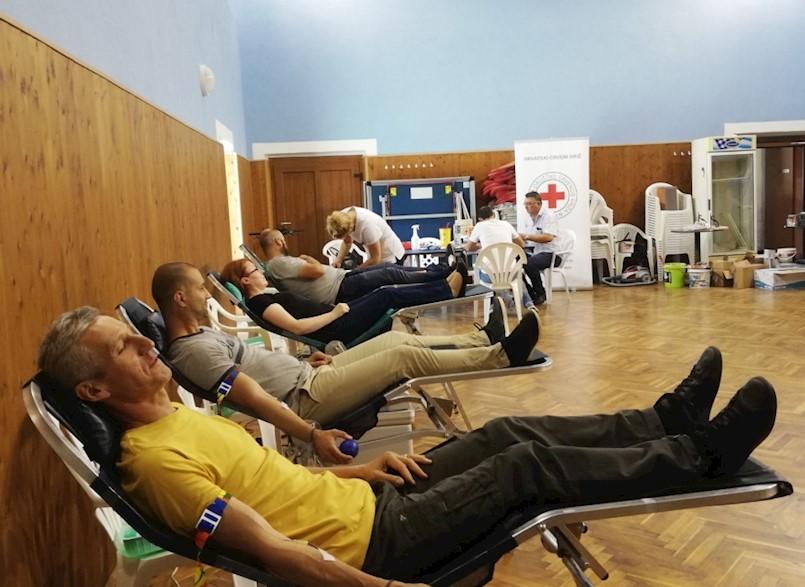 Loreto Lancia ostvario 100. jubilarno darivanje krvi