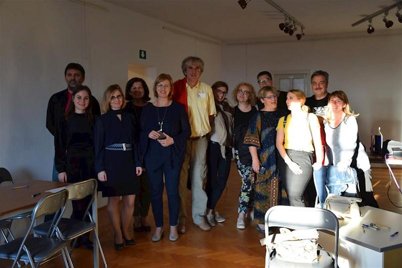 """U Narodnom muzeju održana radionica za stjecanje stručnih znanja i pedagoških vještina predavača u obrazovanju odraslih u okviru EU projekta """"Rudnici baštine"""""""