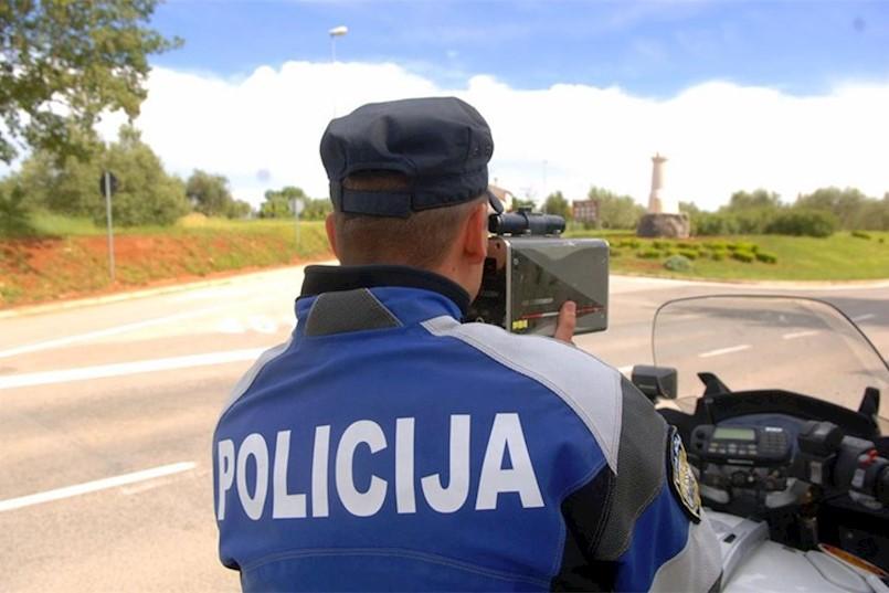 PU Istarska: Pojačane aktivnosti prometne policije tijekom vikenda