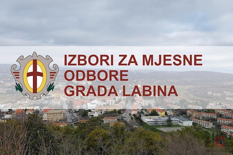 Izbori za izbor članova vijeća mjesnih odbora na području Grada Labina - apsolutna pobjeda IDS-a