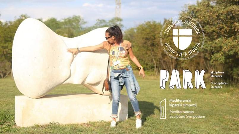 (P)osjeti park skulptura Dubrova