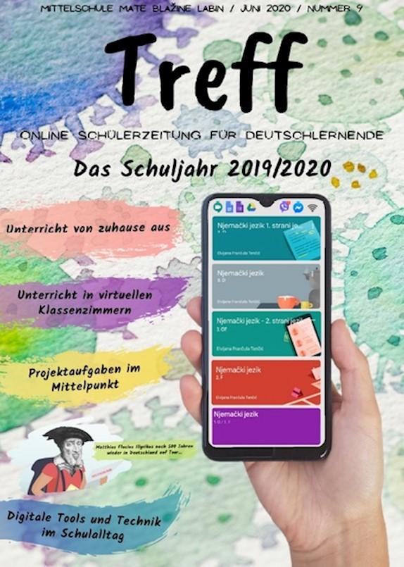 Izašao 9. broj TREFF-a - časopisa na njemačkom jeziku učenika Srednje škole Mate Blažine
