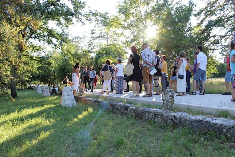 Dobra posjećenost edukativne šetnje kroz Park skulptura Dubrova