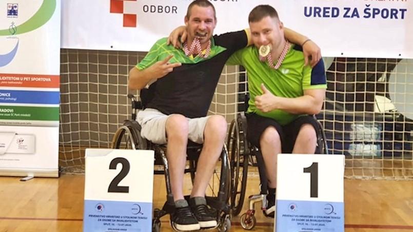 Dejan Nišandžić državni prvak u stolnom tenisu za osobe s invaliditetom