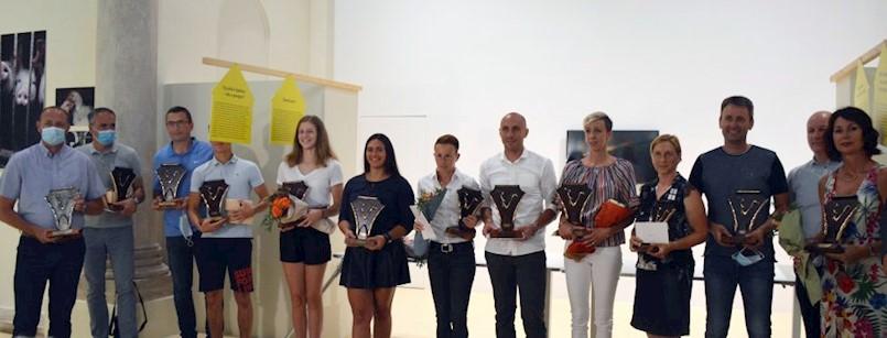 Najuspješniji sportaši Istre: Nives Jelovica, boćarice Labina, Fran Mileta i Romano Grižančić primili nagrade