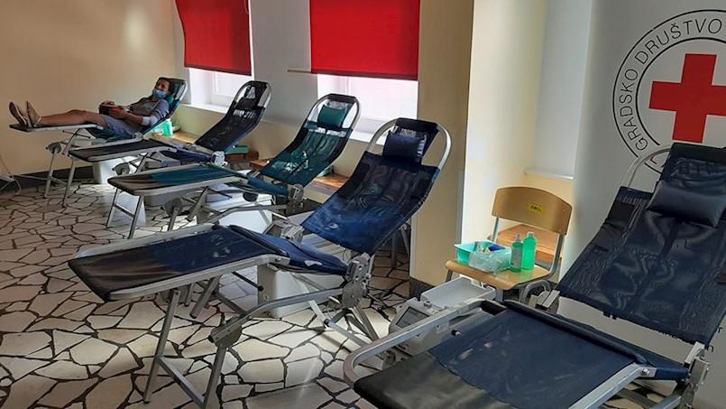 Slab odaziv akciji darivanja krvi
