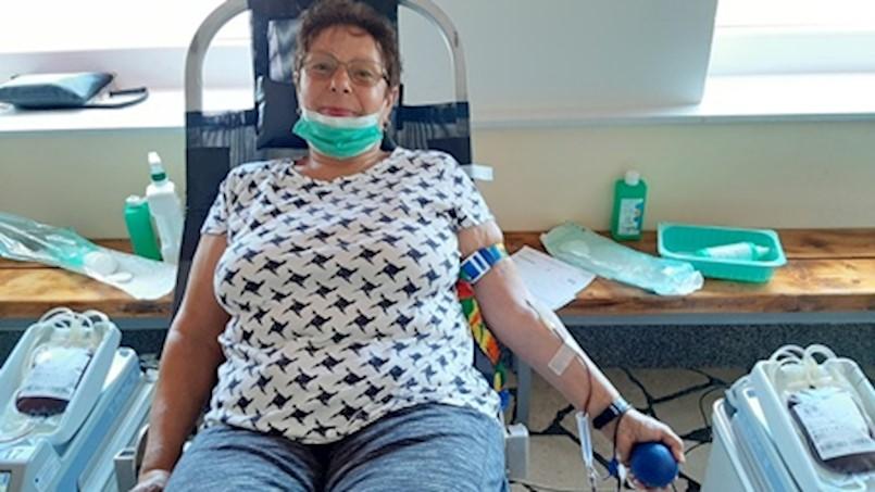 Ruža Đurček darivala krv 75 puta