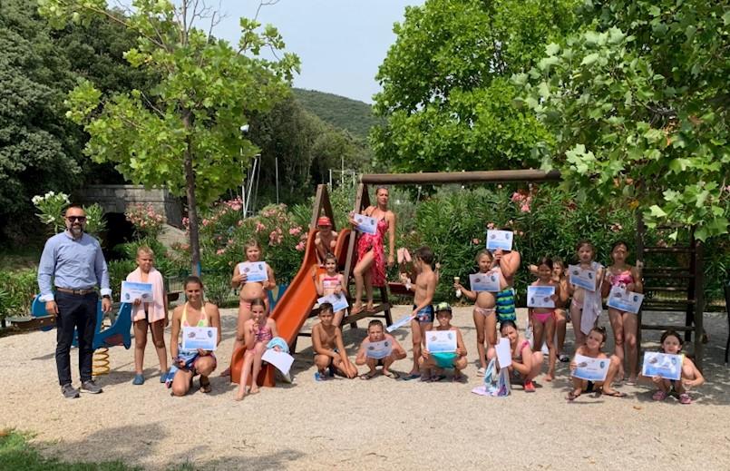 I ove godine održana Škola plivanja za osnovnoškolce iz Općine Kršan