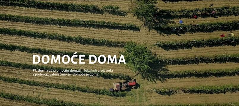 """LAG """"Istočna Istra"""" u platformi """"Domoće doma"""" okupila lokalne proizvođače domaće hrane i ribare"""