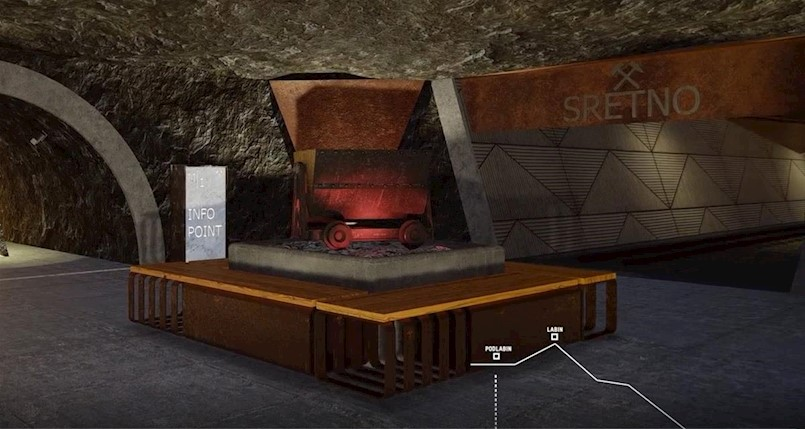 Pogledajte video putovanja tunelima rudnika od Labina do Rapca!