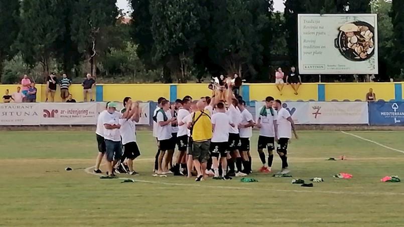 NK Rudar osvajač Kupa Istre za 2020. godinu