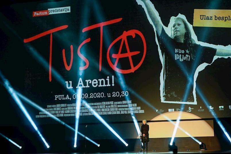 "Pula Film Festival 2020: Stota projekcija dokumentarnog filma ""Tusta"" pred najzahtjevnijom i najiskrenijom publikom"